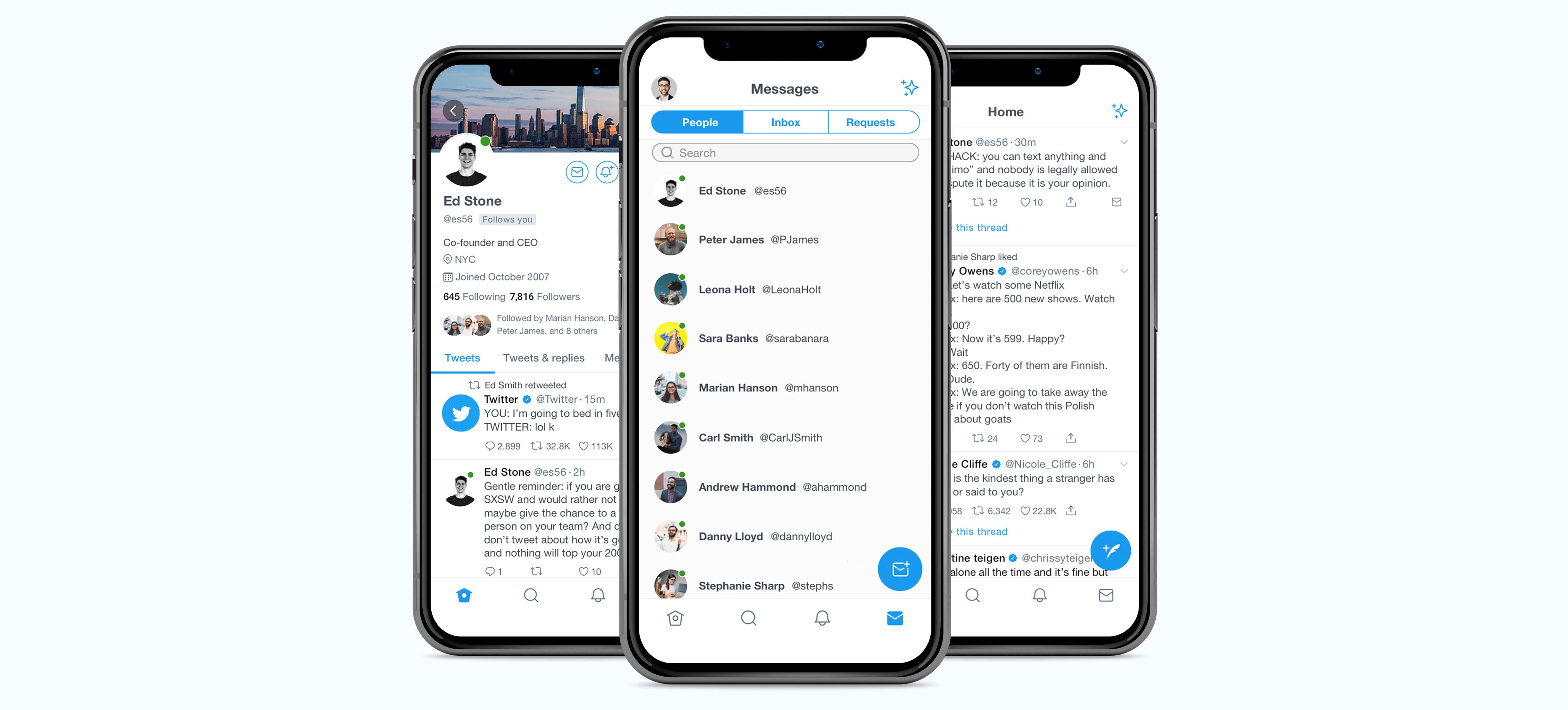 Twitter Mockup